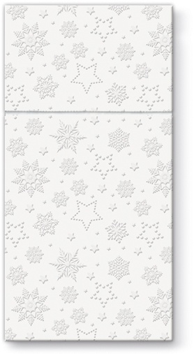 Pl Serwetki Pocket Inspiration Winter Flakes (Pear